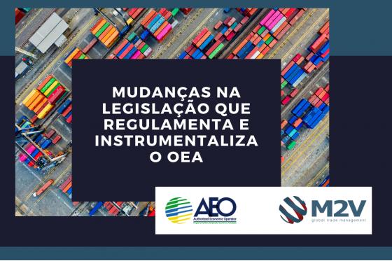 Mudanças na Legislação que regulamenta e instrumentaliza o OEA